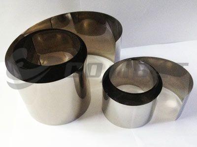 Titanium and titanium alloy foils
